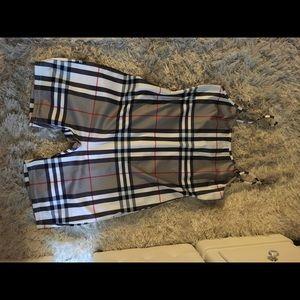 XL One-piece Burberry style bodysuit